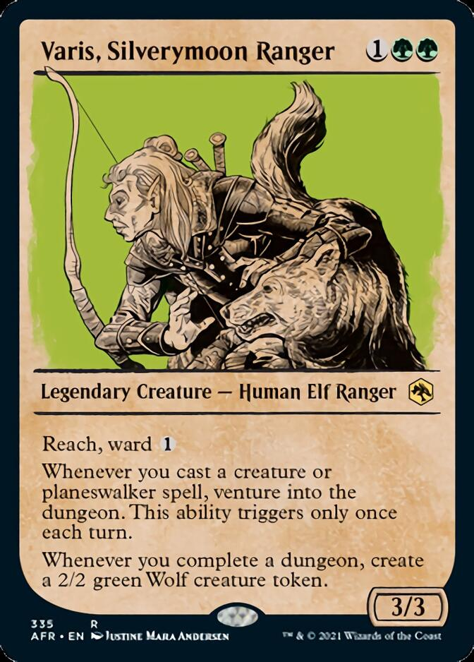 Varis, Silverymoon Ranger <showcase> [AFR]