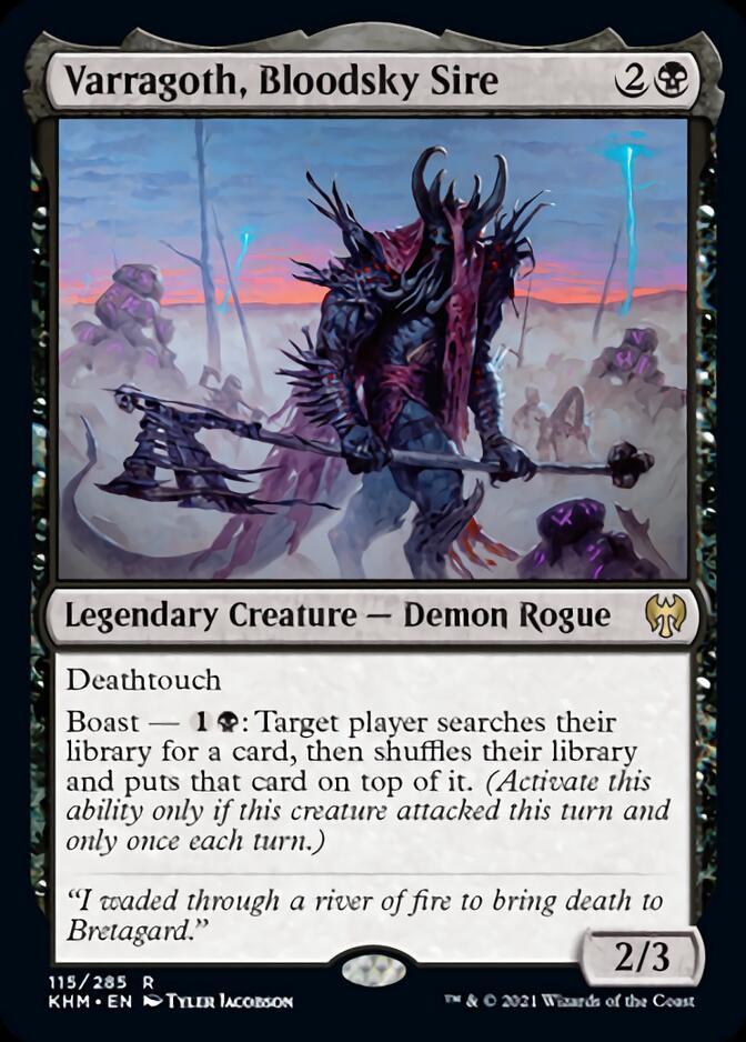 Varragoth, Bloodsky Sire [KHM]