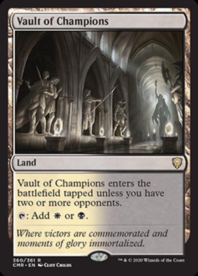 Vault of Champions [CMR]