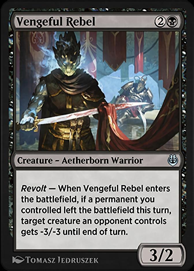 Vengeful Rebel [KLR]