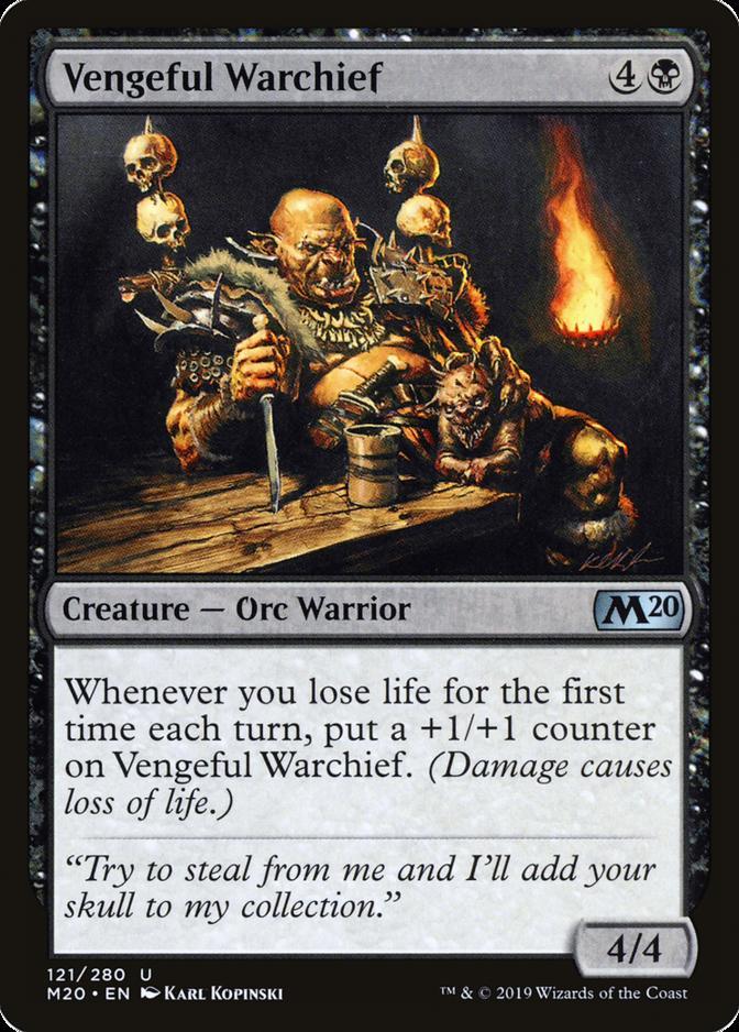 Vengeful Warchief [M20]
