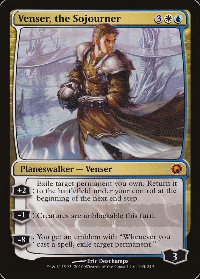 Venser, the Sojourner [SOM]