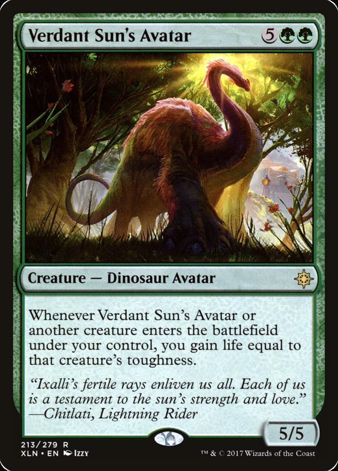 Verdant Sun's Avatar [XLN]