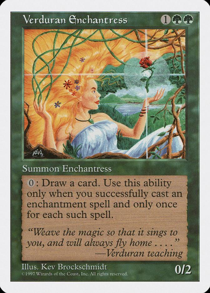 Verduran Enchantress [5ED]