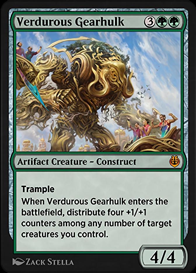 Verdurous Gearhulk <masterpiece> [KLR]