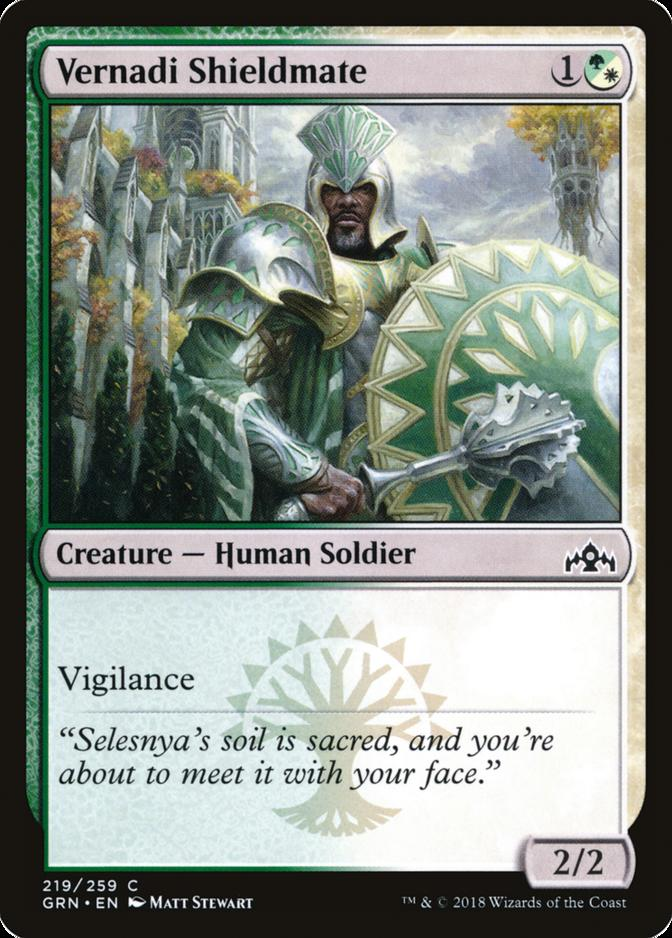 Vernadi Shieldmate [GRN]