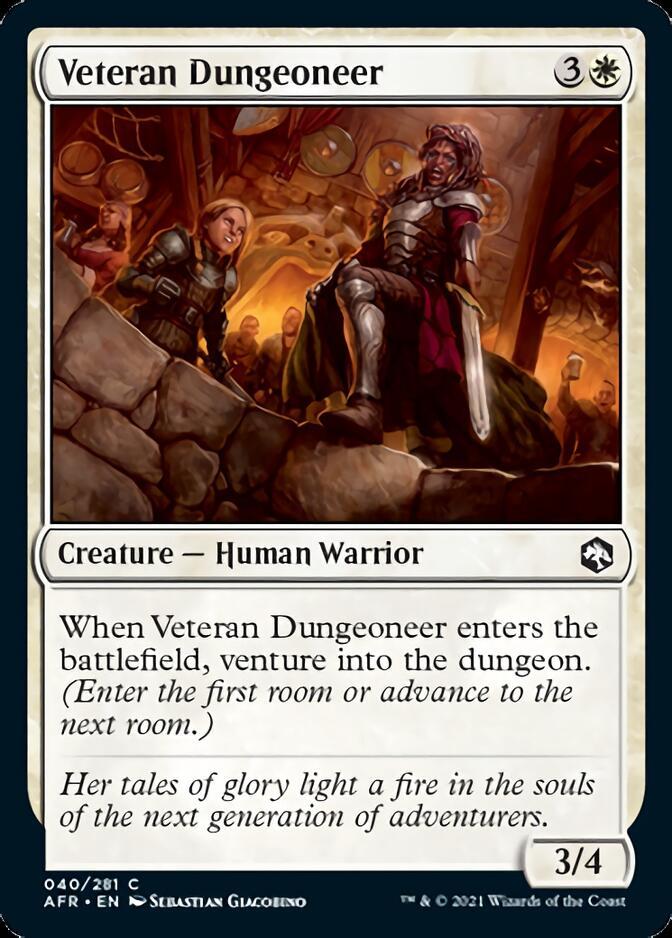 Veteran Dungeoneer [AFR]