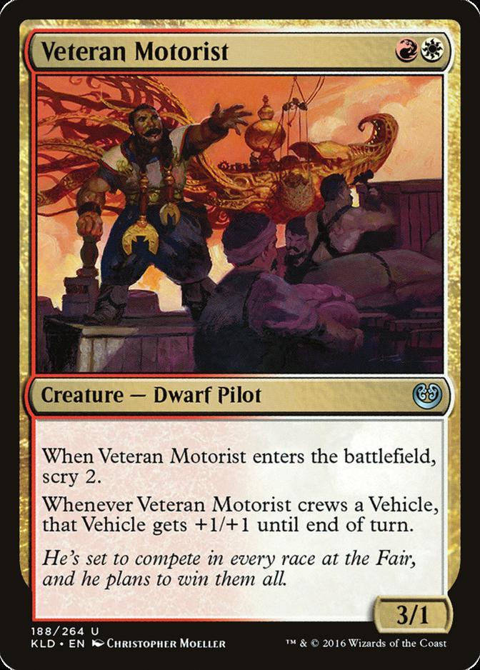 Veteran Motorist [KLD]