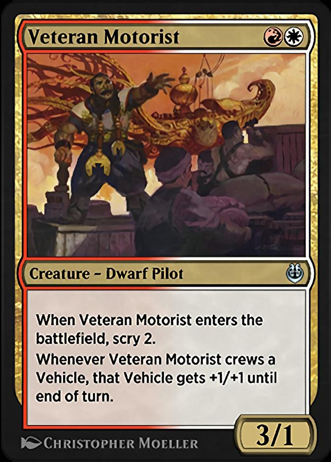 Veteran Motorist [KLR]