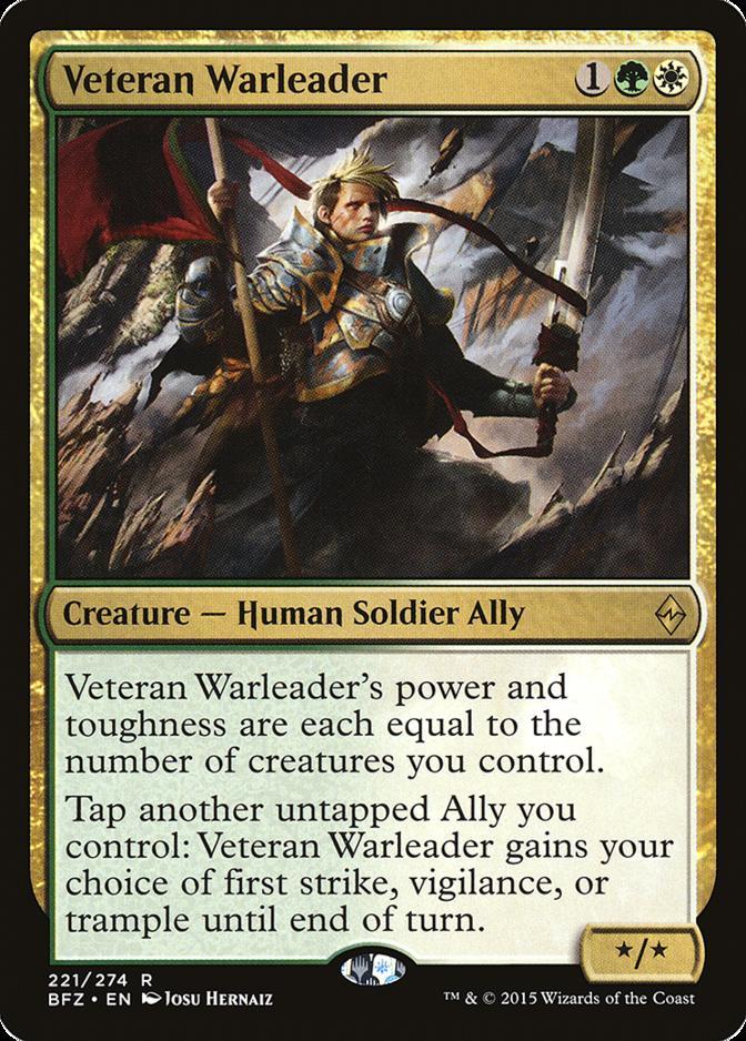 Veteran Warleader [BFZ]