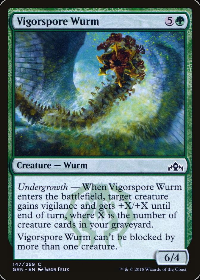 Vigorspore Wurm [GRN]