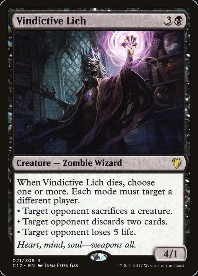 Vindictive Lich [C17]