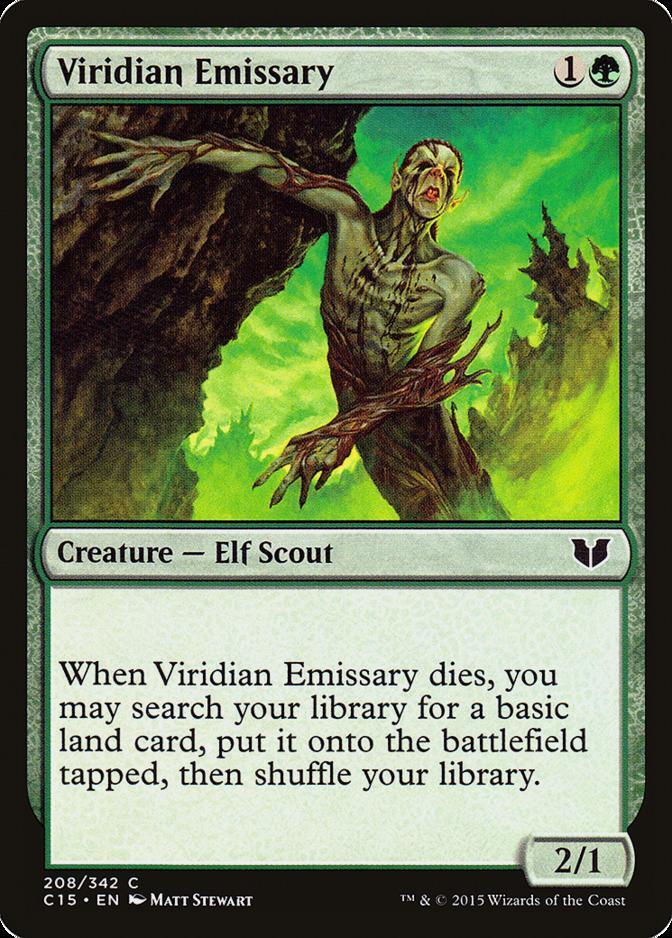 Viridian Emissary [C15]