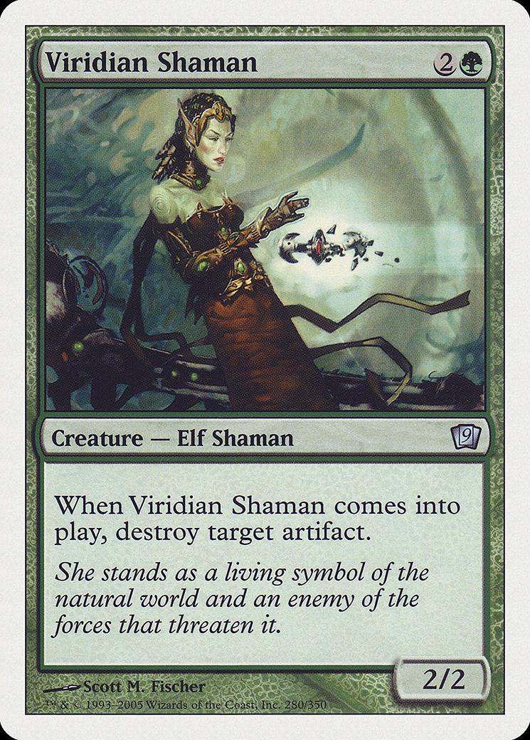 Viridian Shaman [9ED]