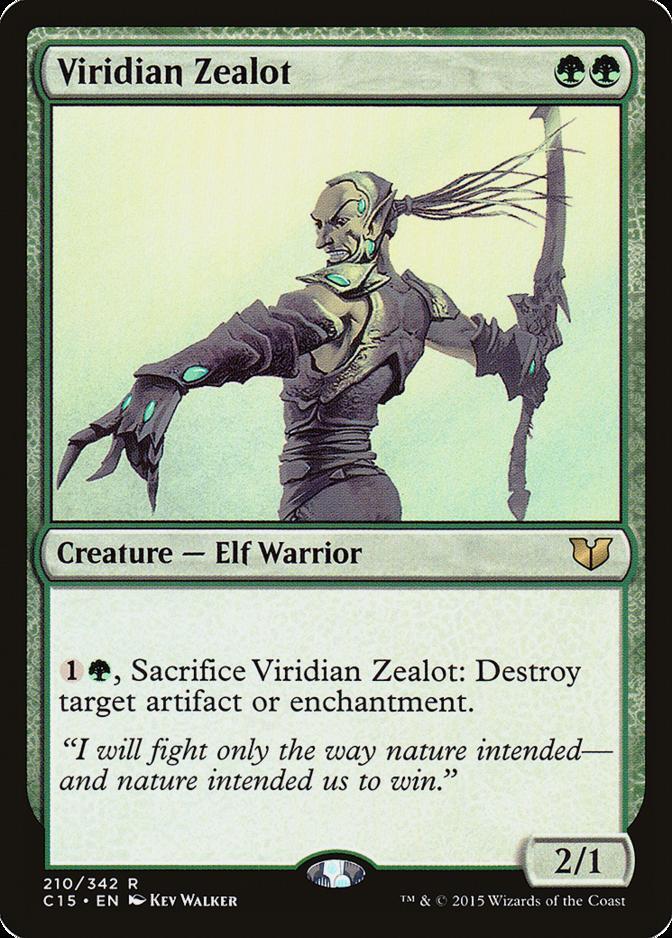 Viridian Zealot [C15]