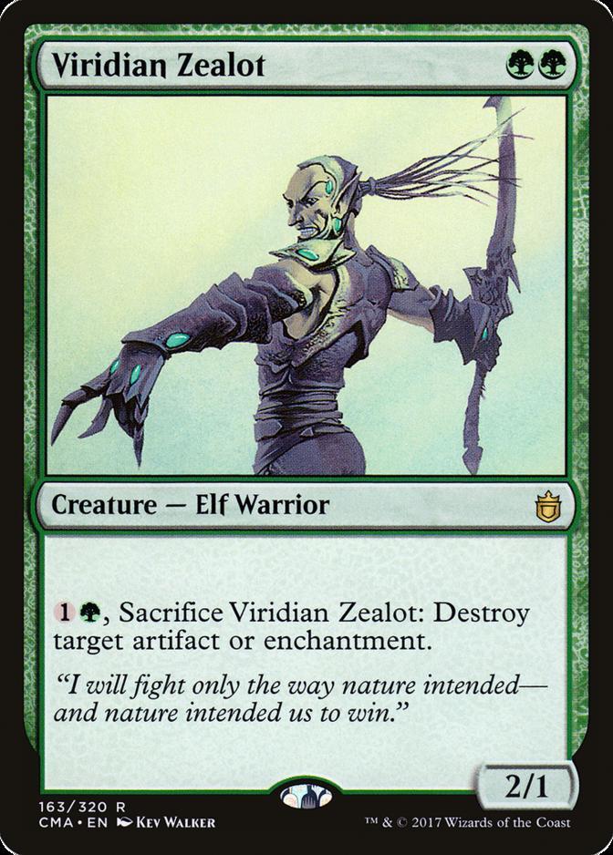 Viridian Zealot [CMA]