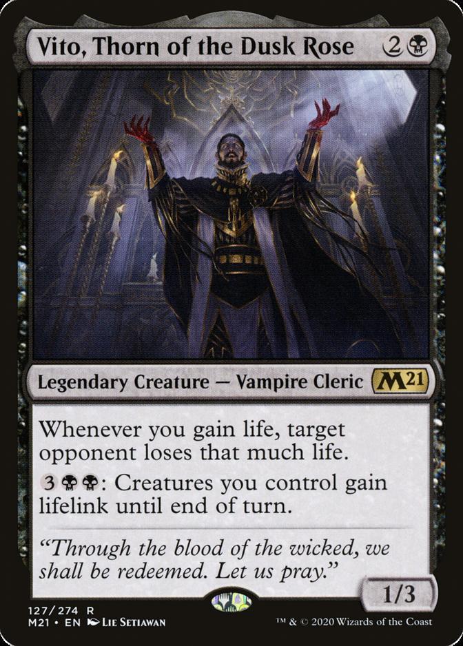Vito, Thorn of the Dusk Rose [M21]