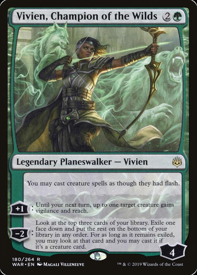 Vivien, Champion of the Wilds [WAR]
