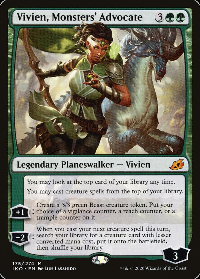 Vivien, Monsters' Advocate [IKO]