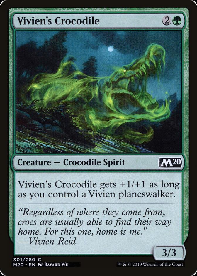 Vivien's Crocodile [M20]
