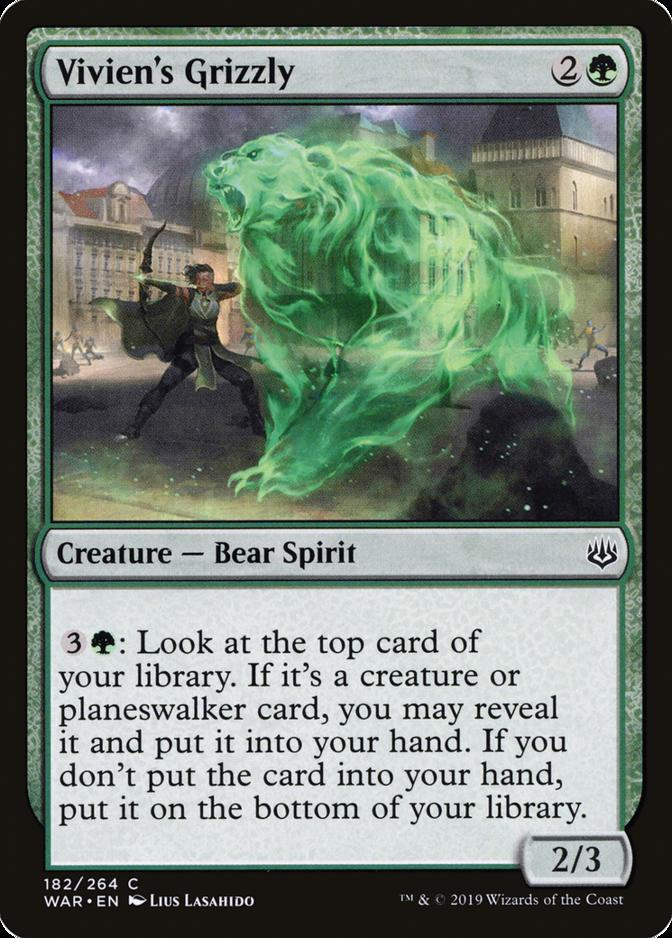Vivien's Grizzly [WAR] (F)