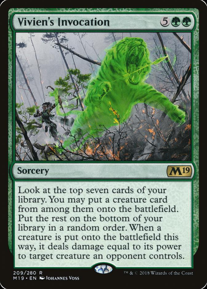 Vivien's Invocation [M19]