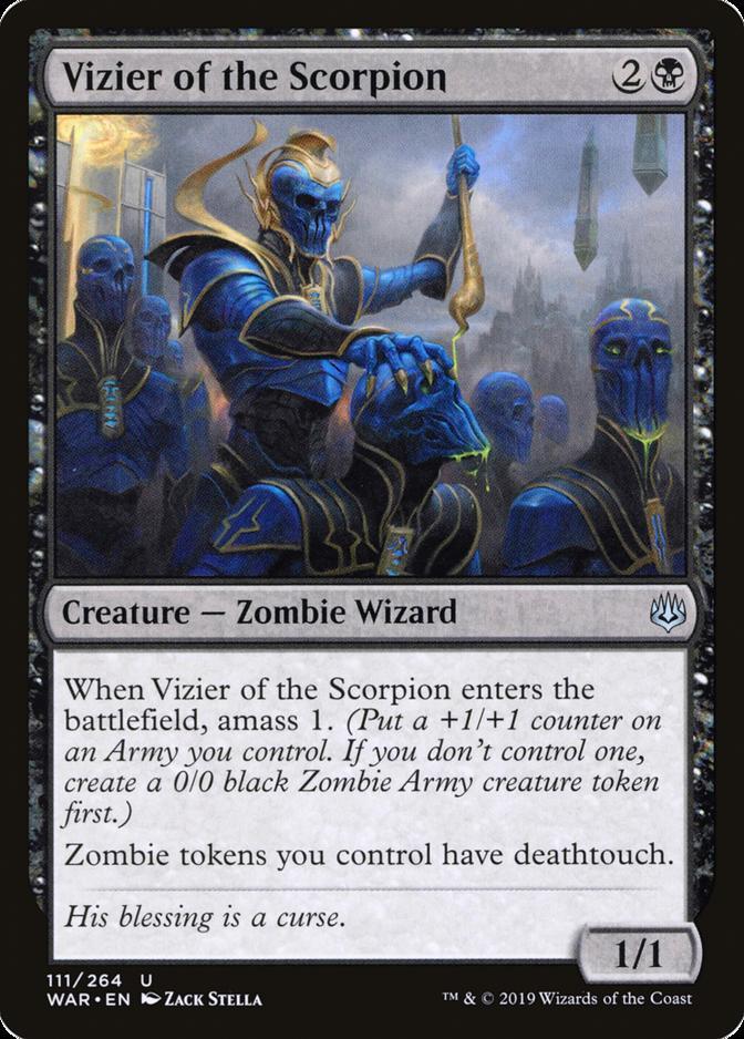Vizier of the Scorpion [WAR]