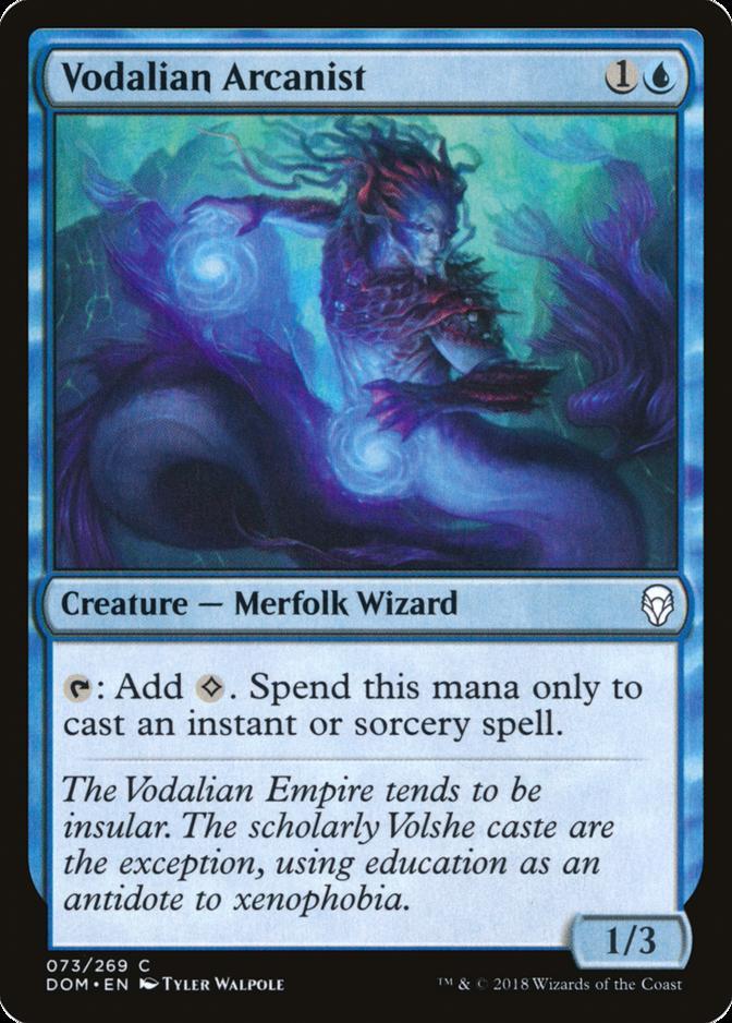 Vodalian Arcanist [DOM]