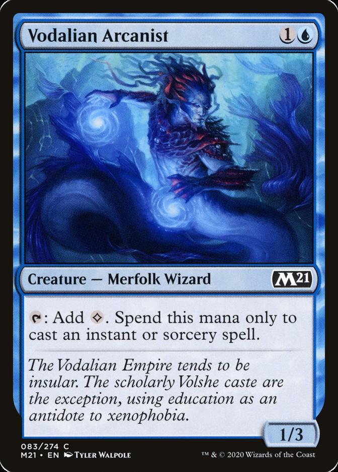 Vodalian Arcanist [M21]