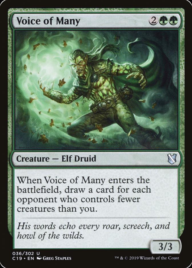 Voice of Many [C19]