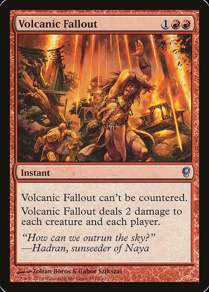 Volcanic Fallout [CNS] (F)