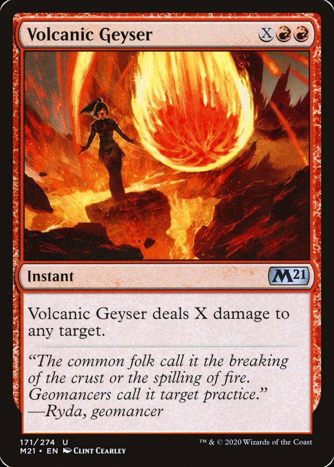 Volcanic Geyser [M21]