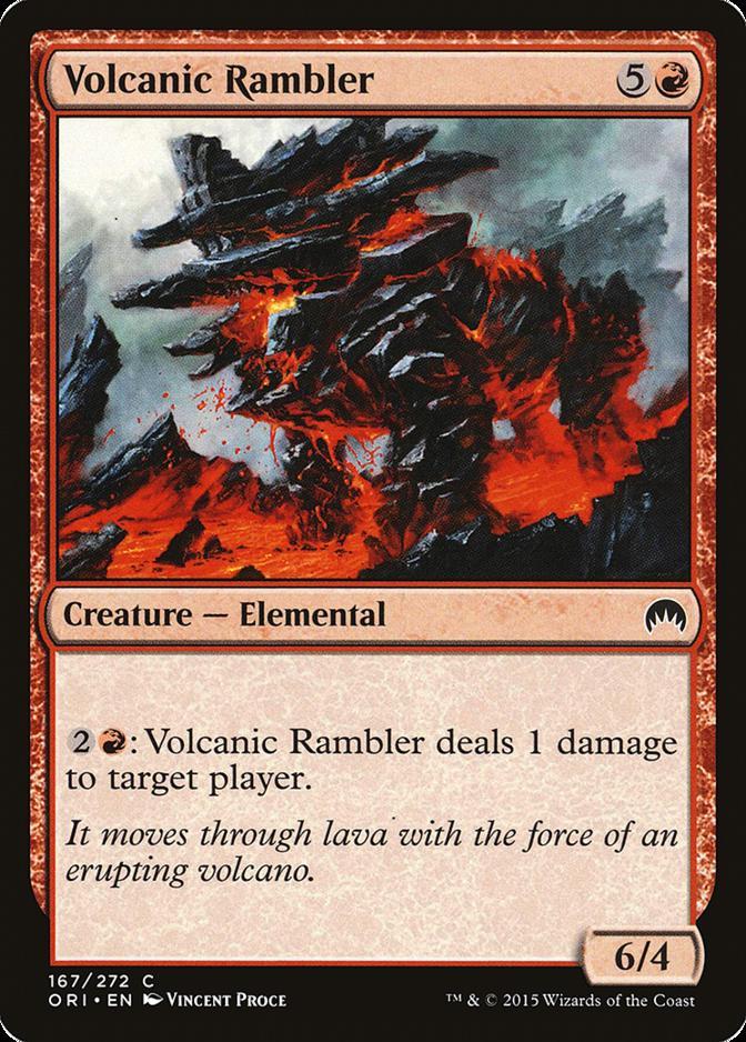 Volcanic Rambler [ORI] (F)