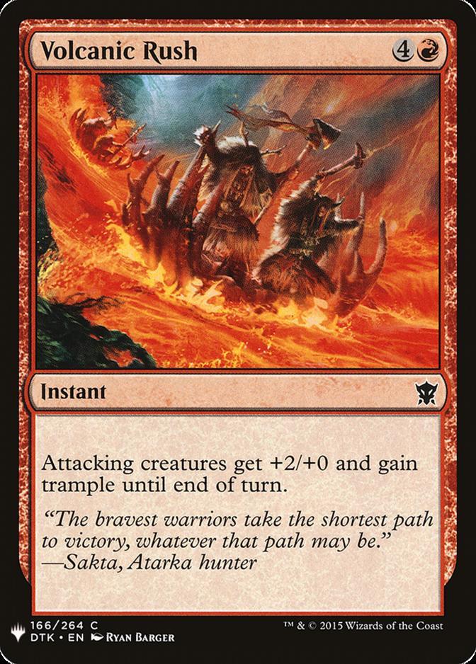 Volcanic Rush [MB1]