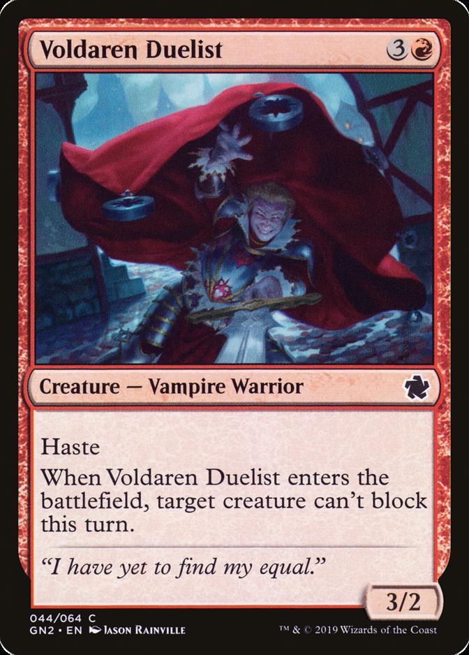 Voldaren Duelist [GN2]