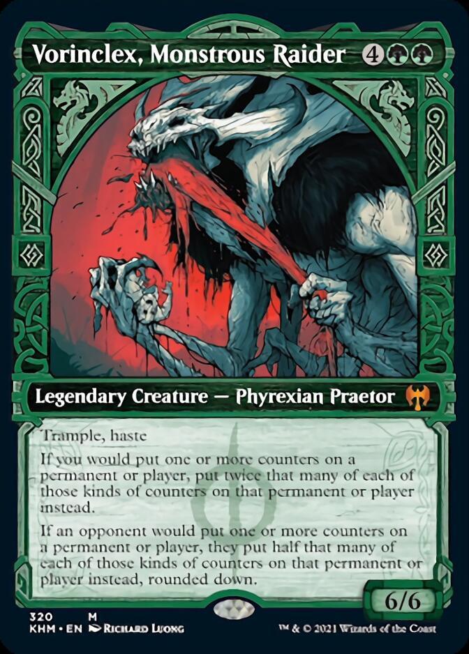 Vorinclex, Monstrous Raider <showcase> [KHM]