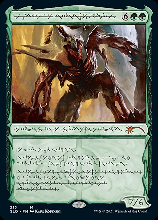 Vorinclex, Voice of Hunger <phyrexian> [SLD]