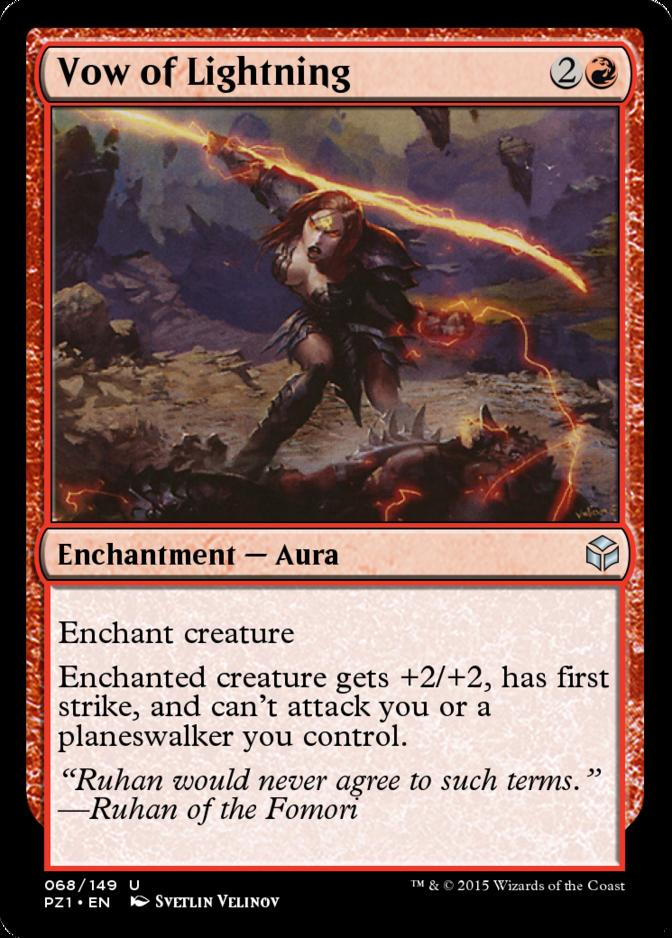 Vow of Lightning [PZ1] (F)