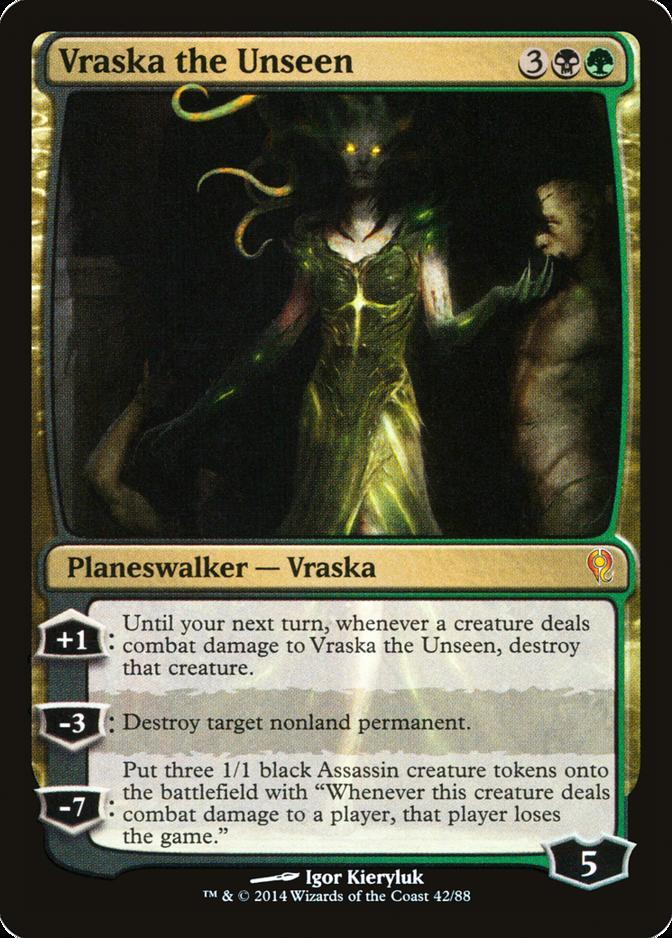 Vraska the Unseen [DDM]