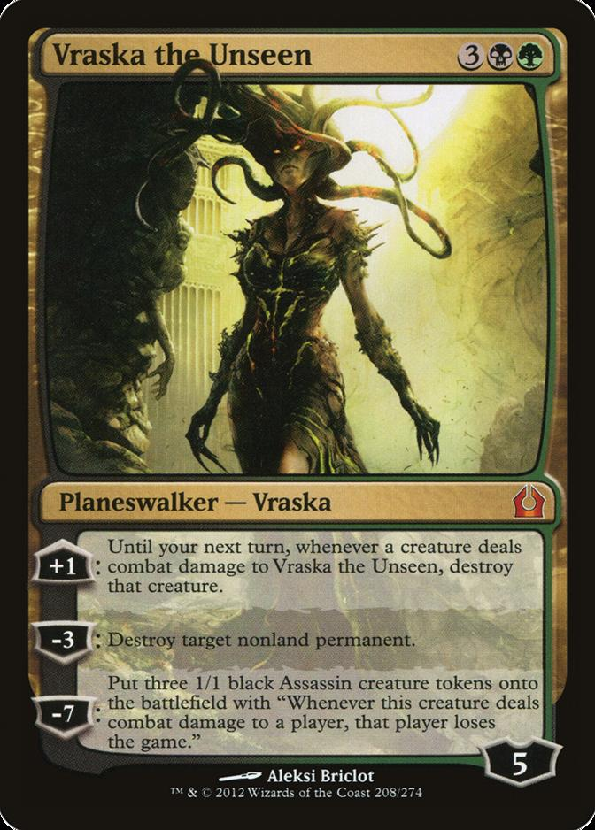 Vraska the Unseen [RTR] (F)
