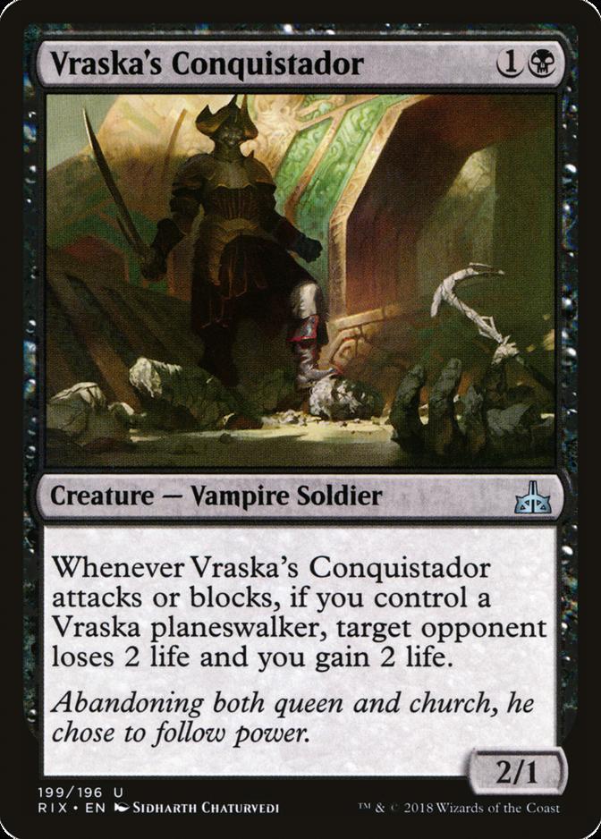 Vraska's Conquistador [RIX]