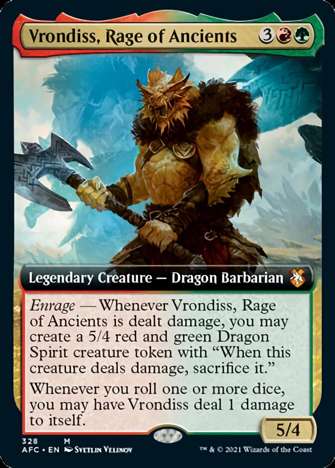 Vrondiss, Rage of Ancients <extended> [AFC]