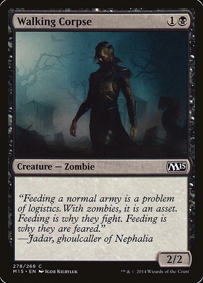 Walking Corpse [M15] (F)
