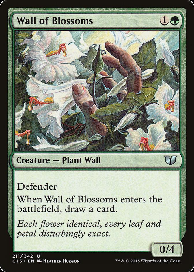 Wall of Blossoms [C15]