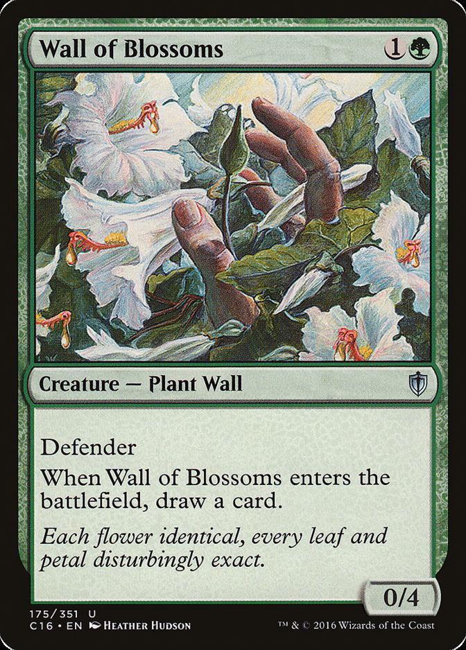 Wall of Blossoms [C16]