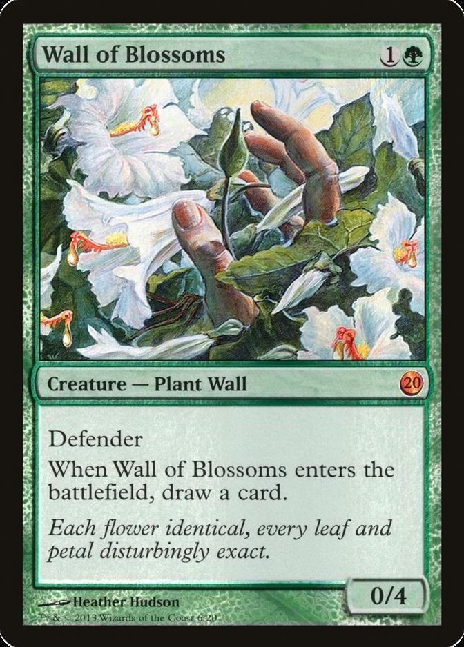 Wall of Blossoms [V13]