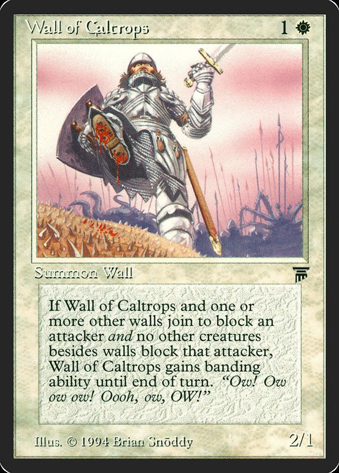 Wall of Caltrops [LEG]