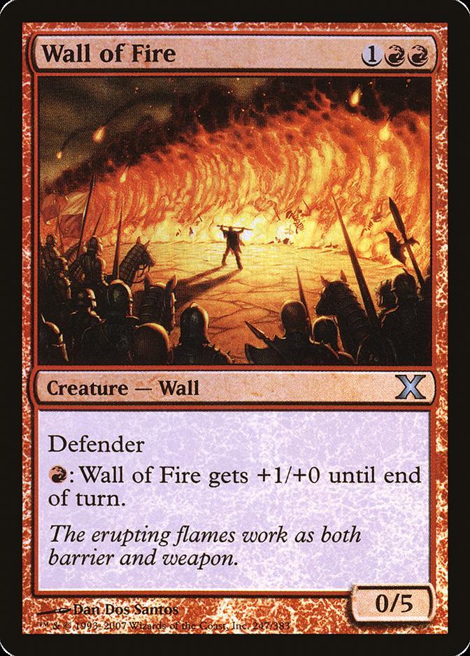 Wall of Fire [10E]