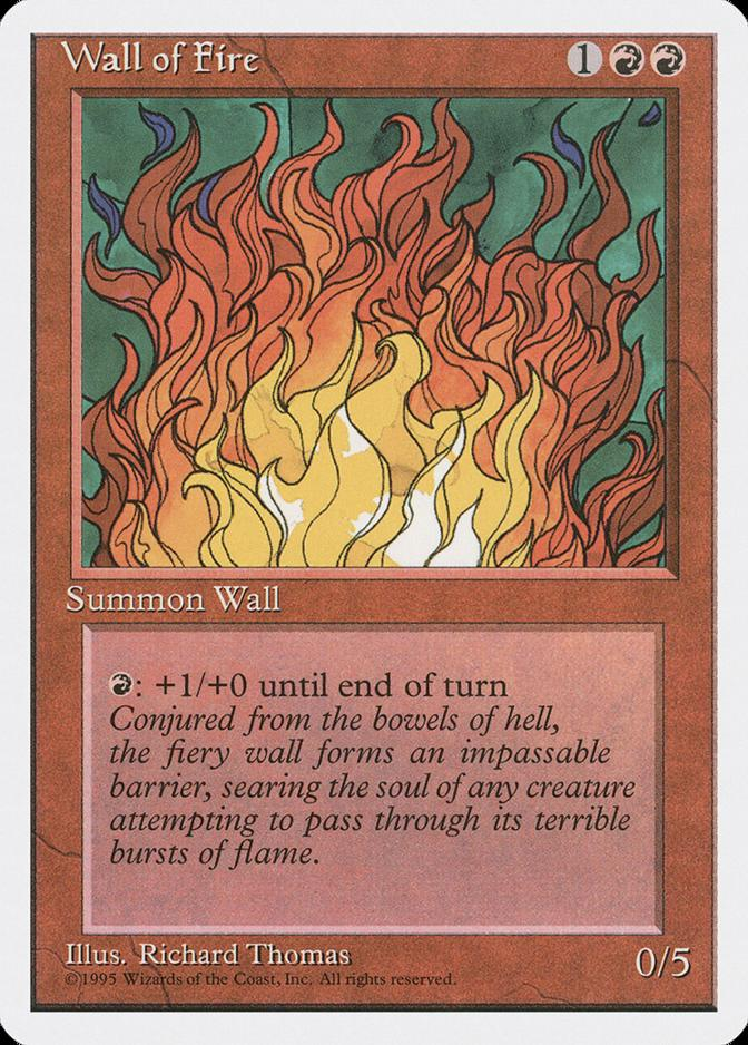 Wall of Fire [4ED]