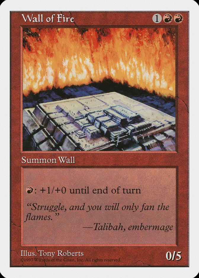 Wall of Fire [5ED]